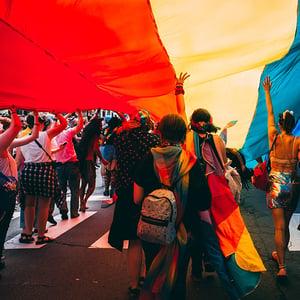 teens-at-lgbtq-pride-event
